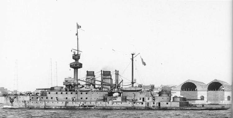 French battleship Henri IV HENRI IV 1902-1921 Shipbucket