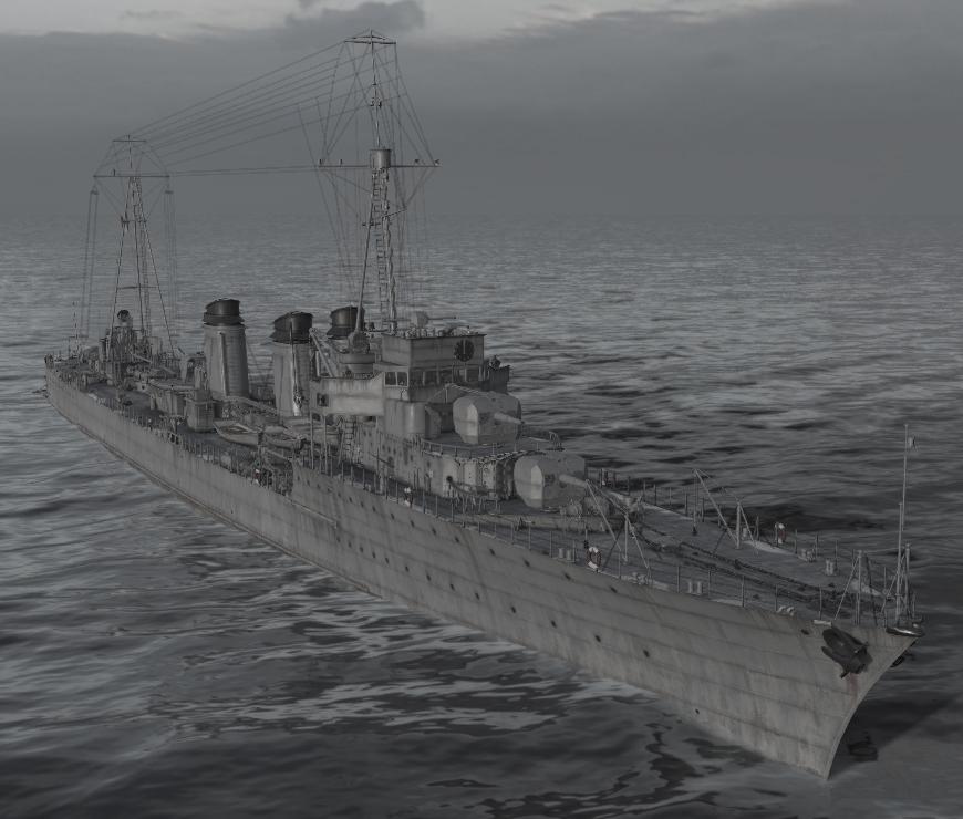 Jaguar Class Destroyers