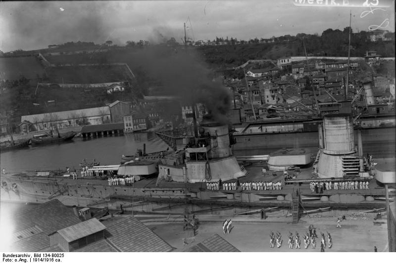 Bundesarchiv - Goeben in the Bosporus