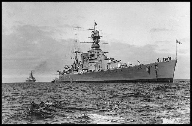 HMS Hood in 1924