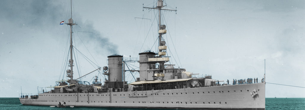 The Java class cruisers, essentially a 1917 design