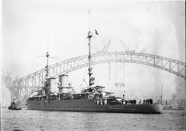 Java in Sydney harbour