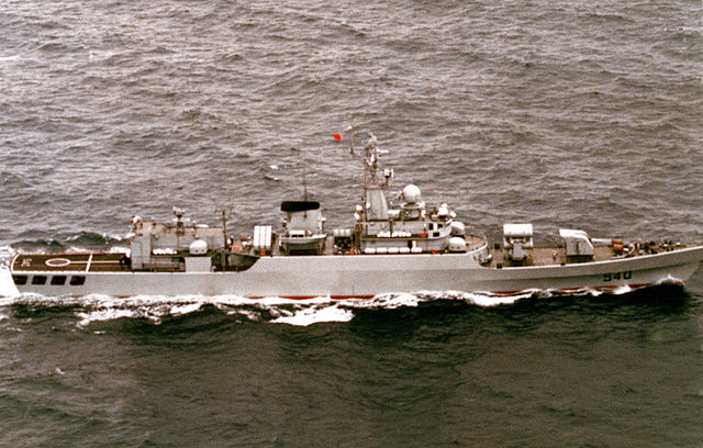 starboard side of PRC Huinan