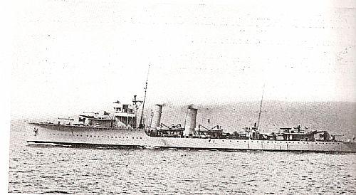 Destroyer NRP Vouga