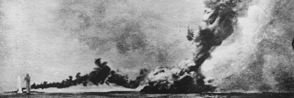 HMS Queen Mary at Jutland