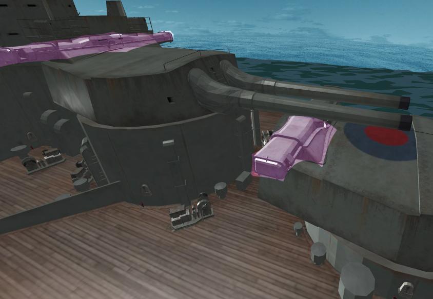 main turrets rangefinders