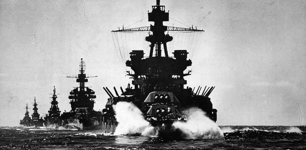 USS Pennsylvania 1944