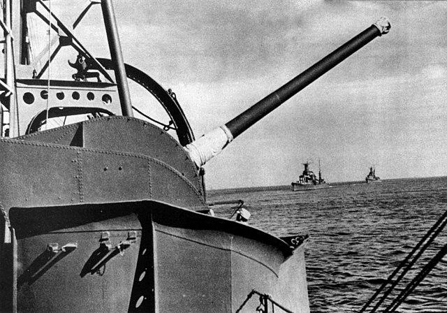 12 cm naval guns DP