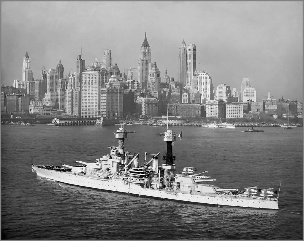Colorado class in NY before the war