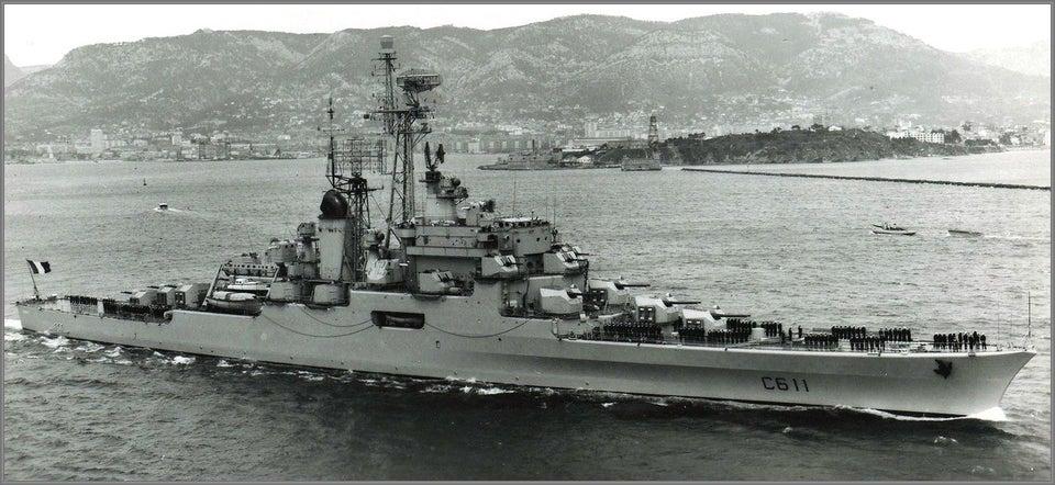 De Grasse underway off Toulon