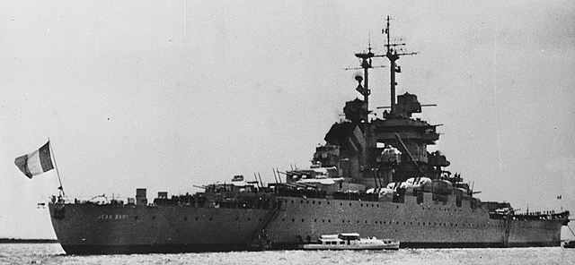 Jean Bart in Suez Canal