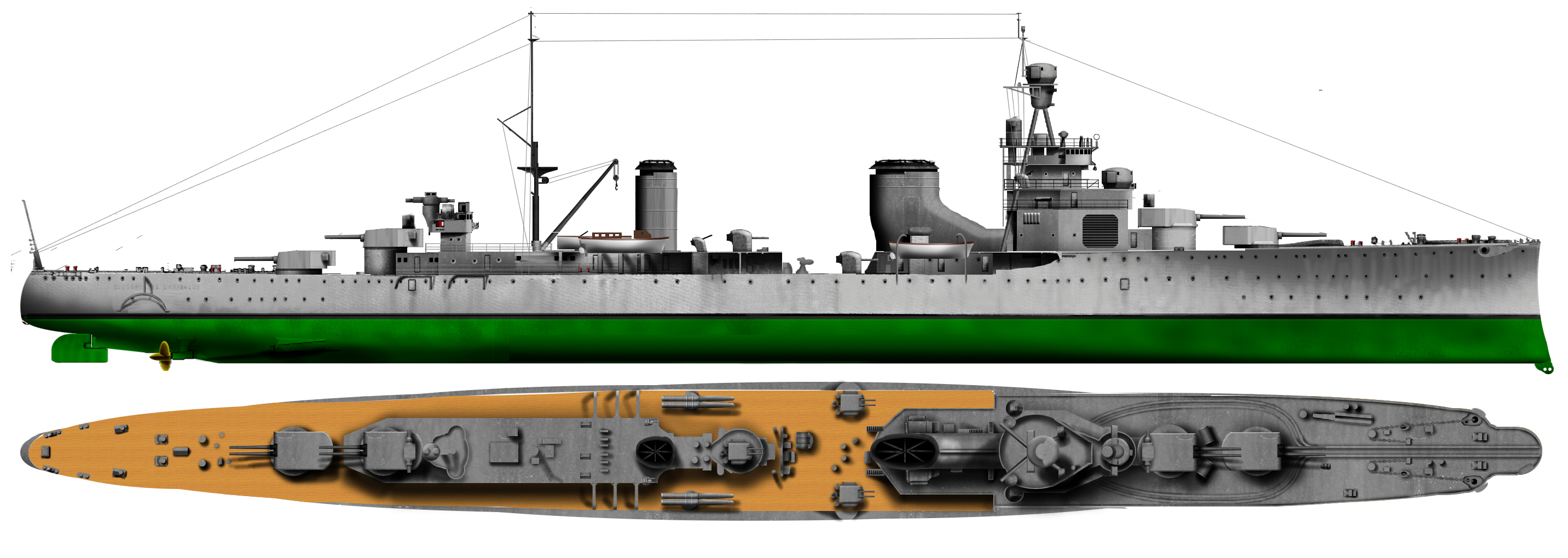 HD Illustration of the Guissano class