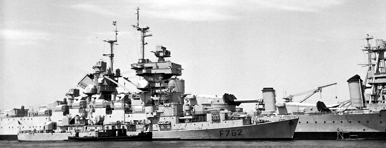 Jean Bart in reserve 1959
