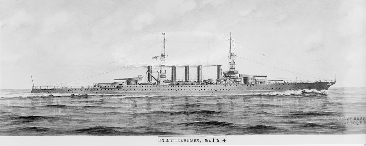 USS Lexington original configuration