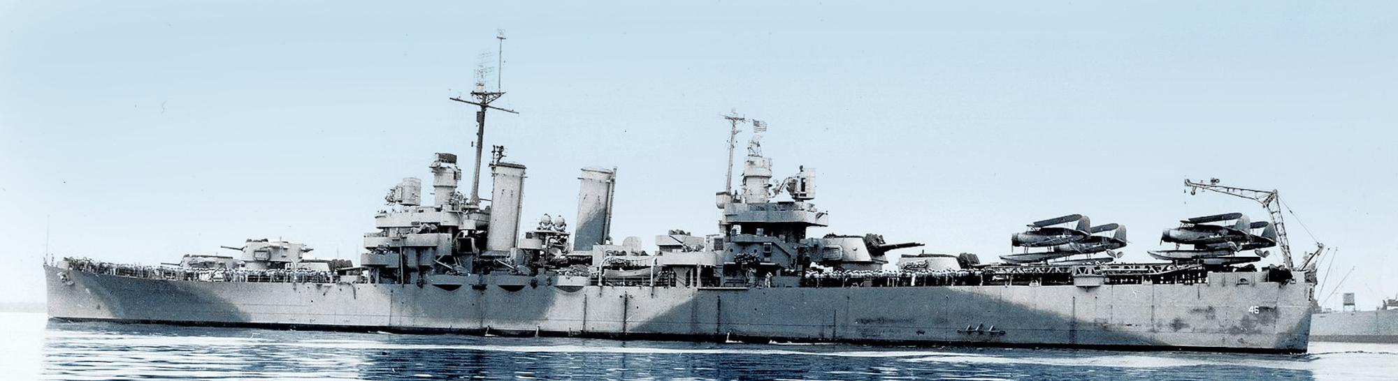 WW2 American Cruisers