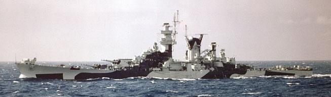 uss alaska in the atlantic august 1944