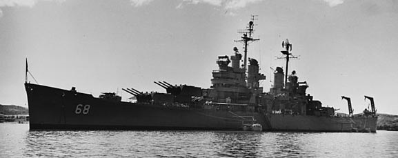 The Wichita directly inspired the wartime Baltimore class design