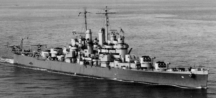 Cleveland class cruisers