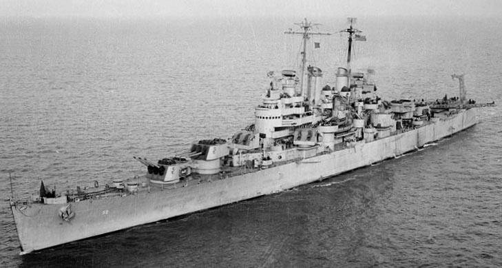 USS Denver Underway