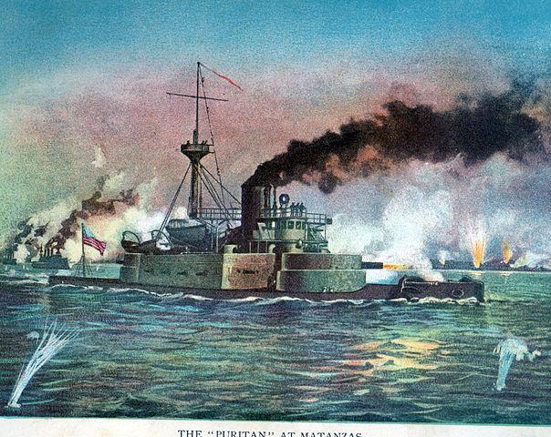USS Puritan at Matanzas