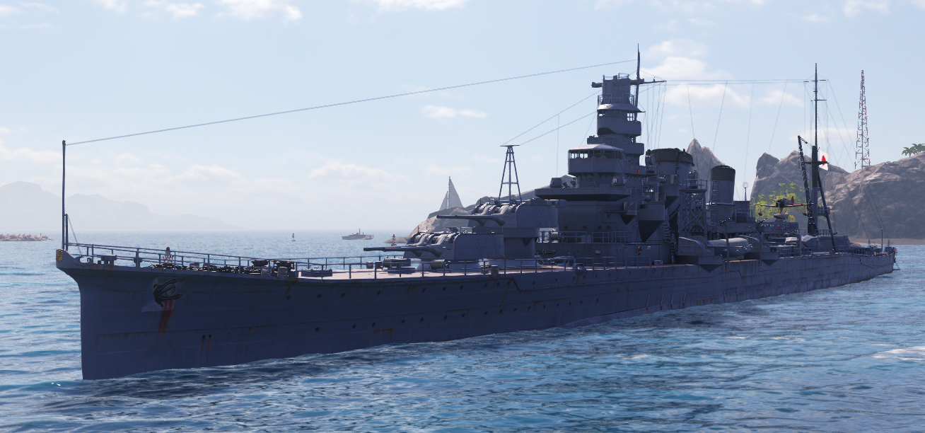 Furutaka as rebuilt