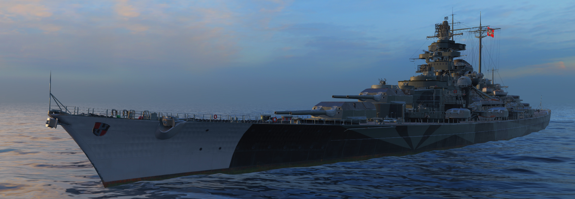 Tirpitz rendition by WoW