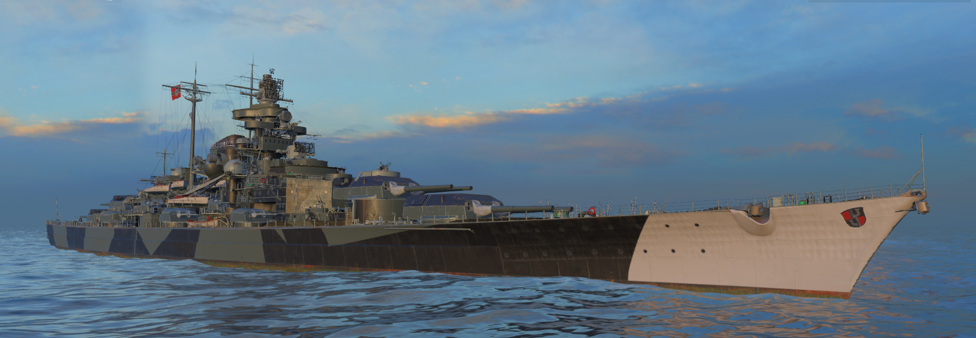 wow rendition of KMS Tirpitz