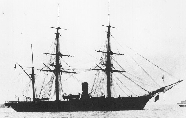 The Frigate Dupleix on China