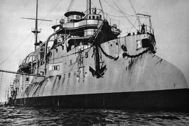 Polish cruiser ORP Baltyk