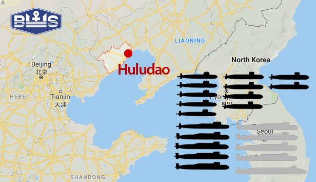 Bohai shipyards Huludao