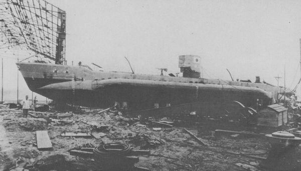 Yu-1 in Hitachi Ltd., Kasado Factory (1943)