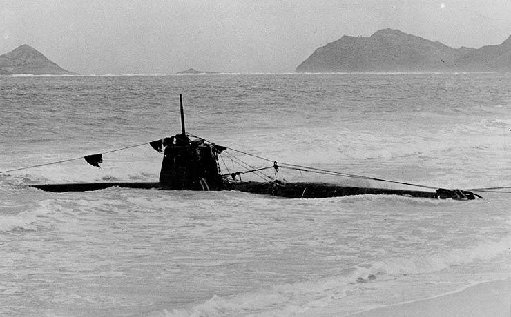 Ko-hyoteki_class_submarine beached pearl harbor