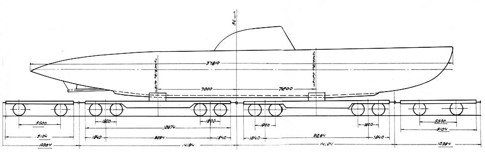 Rail Transportation scheme of the M-type