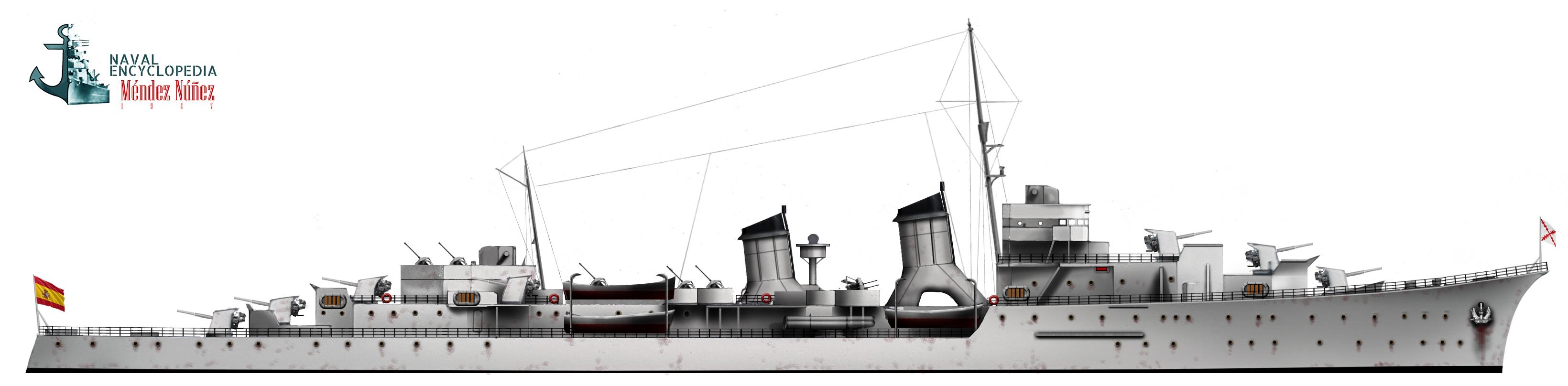 Blas de Lezo class cruisers (1922)