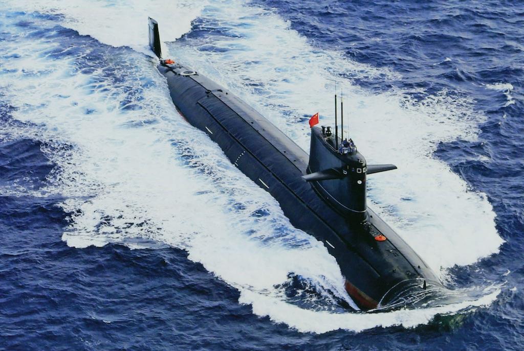 Type 091 Han class, no id