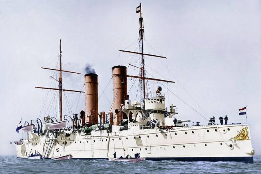 Cruiser Holland - postcard