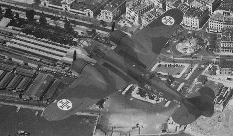 Portuguese Bristol Bleinhem over Lisbon