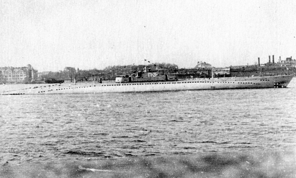 P-4 cruiser submarine