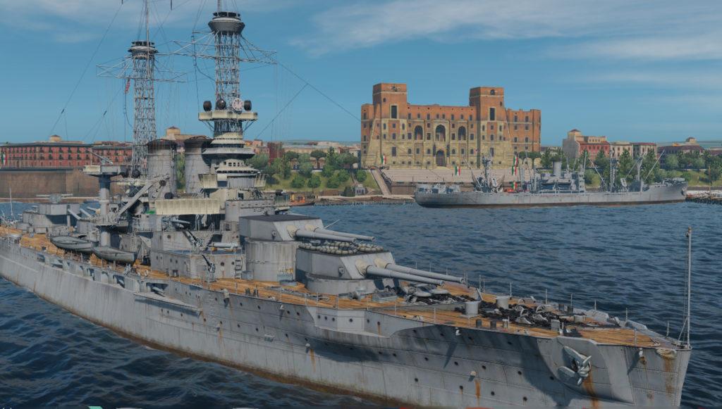 USS Wyoming in the Mediterranean