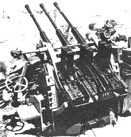 Type 96 AA guns