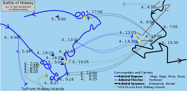 Deployment map of the battle