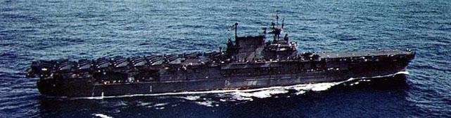 USS Enteprise in October 1945