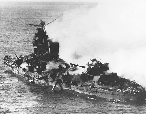 Mikuma sinking