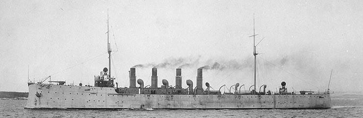 USS Birmingham CL2