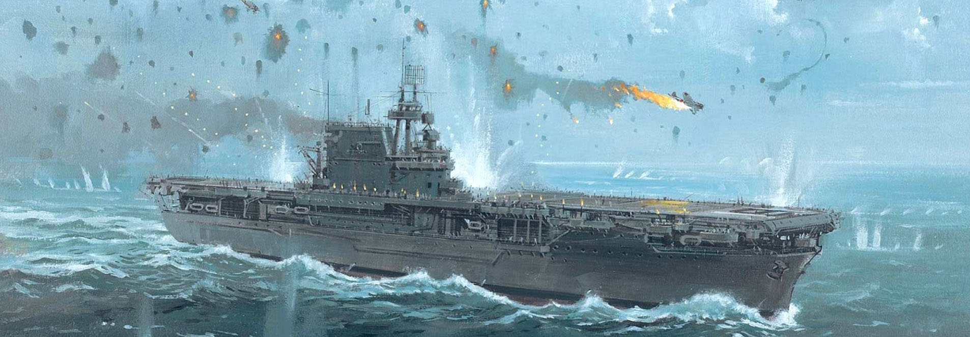 WW2 USN Aircraft Carriers