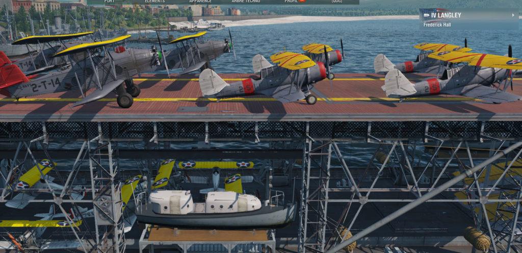 USS Langley aviation