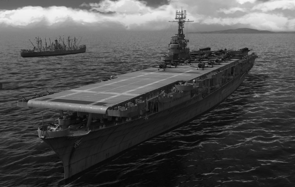 WoW's rendition of USS Wasp
