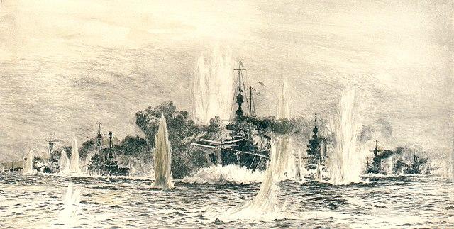 Beatty's cruisers