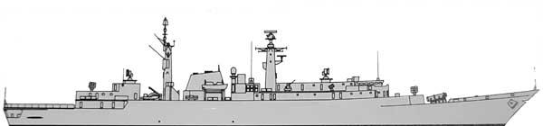 HMS Coventry 1989