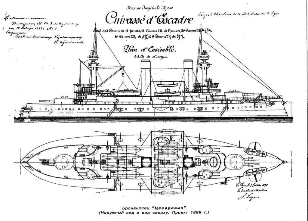 French blueprints